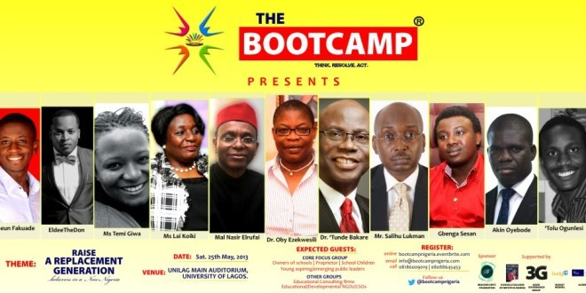 {Press Release} The Bootcamp: Raising a replacement generation
