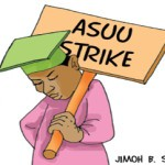 ASUU set to embark on strike Wednesday.