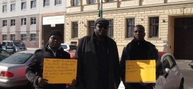 Nigerians In Germany Protest Against Corruption In The Nigerian Government [Pictures]