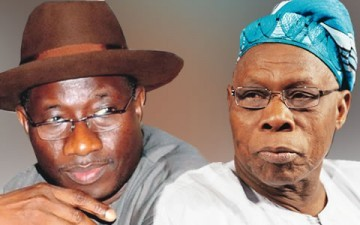 Jonathan meets Obasanjo ,Security Matters Top Discussions