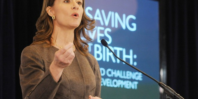 """Lift up an economy in Africa…Start with the Women""- Melinda Gates"