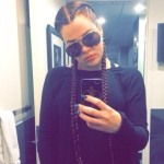 Khloe's Corn Rows to Entice Another Rich Black Rapper?