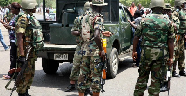 Soldiers Flood Abuja Over Fears Of Insurgents' Attacks