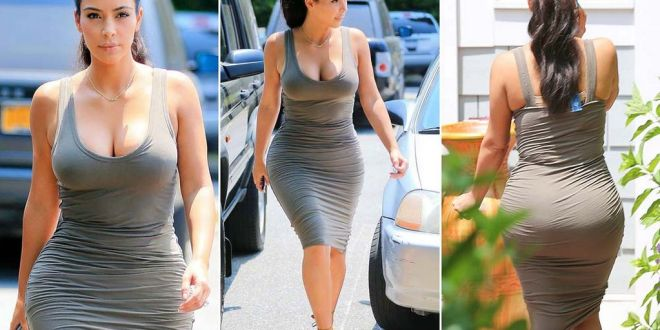 Question of the Day: Is Kim Kardashian's Body 100% Natural???