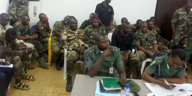 Five More Soldiers Arraigned For Mutiny
