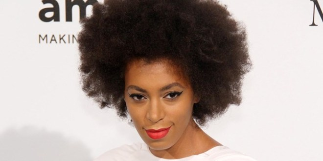 Tabloid Compares Solange Knowles's Hair to a Dog's Fur