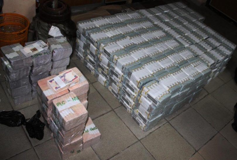 Image result for EFCC Uncovers $43.4m, N23.2m, £27,800 In Ikoyi Apartment