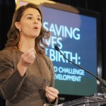 """""""Lift up an economy in Africa…Start with the Women""""- Melinda Gates"""