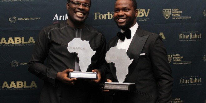 Chude Jideonwo, 29 & Adebola Williams, 28 are winners of the CNBC Africa Young Business Leader of the Year Award (PHOTOS)