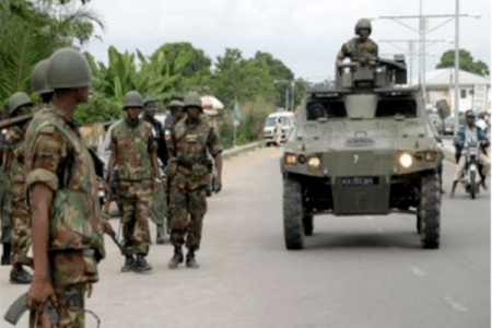 Soldiers Retreat from Mubi…