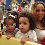Mariah Carey Performing with her Twins…