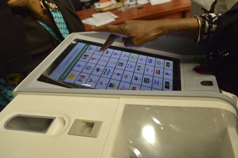 """local literature about e voting system in the philippines """"an electronic voting system is a voting system in which the election data is  by  the researchers which performed analysis during the 2013 local elections in."""